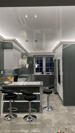 Sufity sufit napinane , podświetlane naciagane meble kuchenne