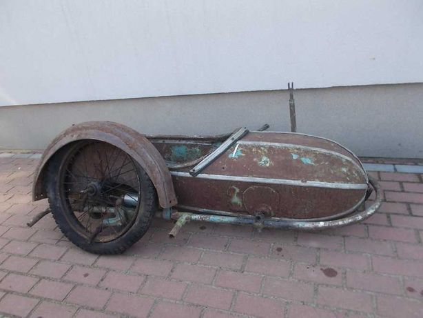 Wózek boczny motocykla STEIB Nr 28 - Zundapp K800 i inne BMW , NSU ?