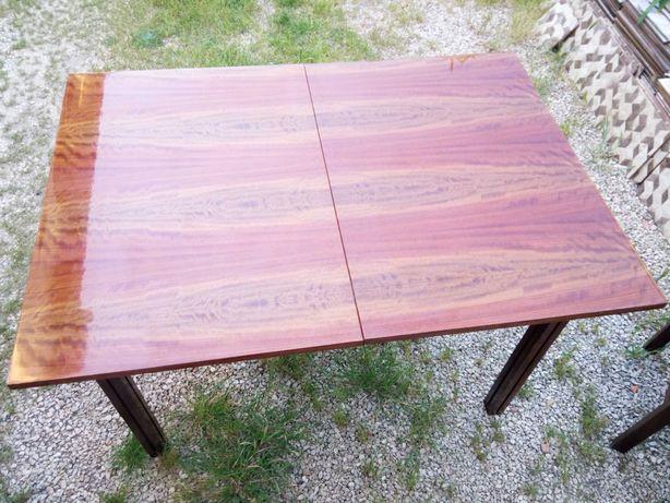 Sala Vintage -Mesa extensível Madeira Maciça + 6 cadeiras