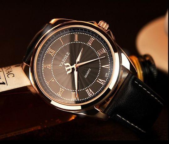 Мужские кварцевые часы YAZOLE 336 (Разные цвета)