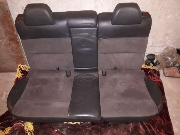 Задний диван пассат б5, б5+ кожа