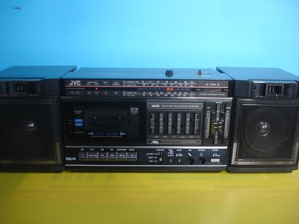 Radiomagnetofon JVC PC-30