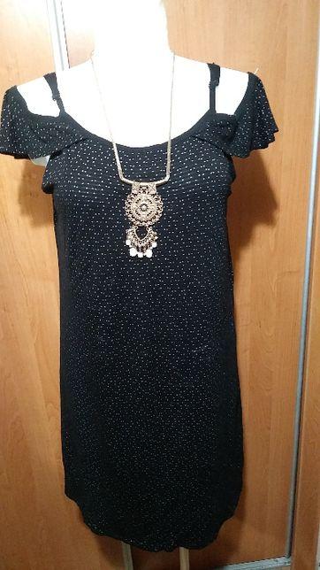 Sukienka z opuszczonymi ramiaczkami, 46-48.