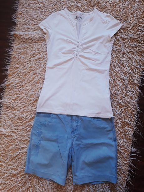 Spodnie i podkoszulka