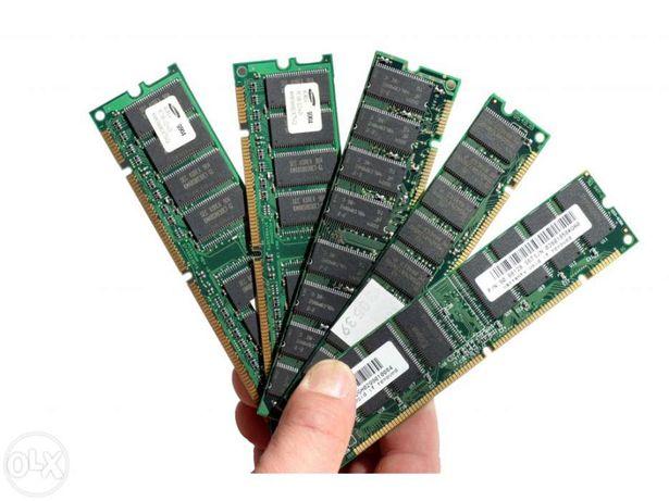Memória RAM 256MB DDR 333MHZ