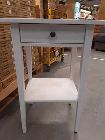 Ikea Hemnes stolik biała bejca 46/35cm