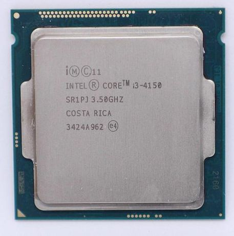 Процессор Intel Core i3 4150 Сокет 1150 + Кулер в комплекті