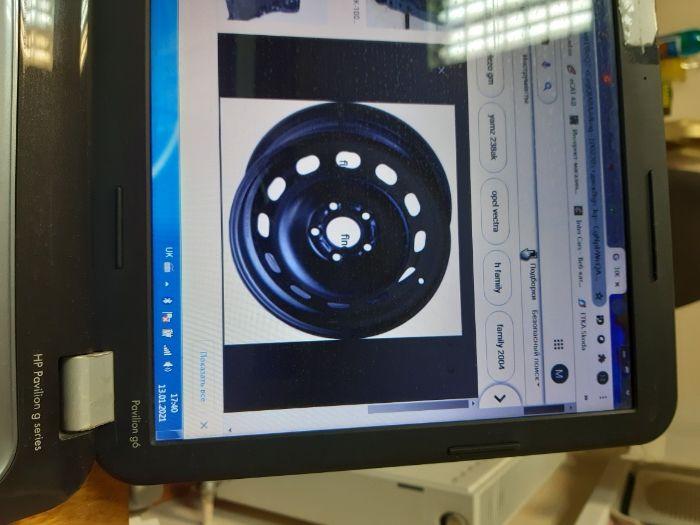 Диск колісний opel r16 1002205 Багрин - изображение 1