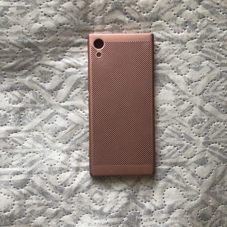 Чехол чохол бампер Sony XA1 розовый розовий