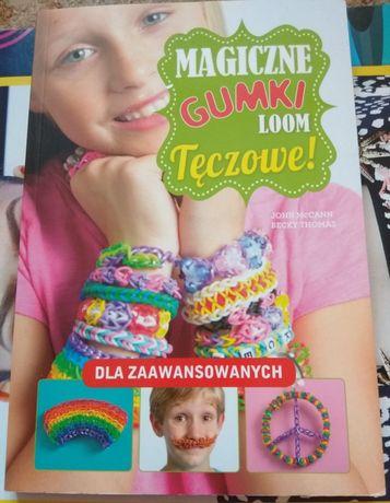 Magiczne gumki loom Tęczowe dla zaawansowanych plus gratis krosno