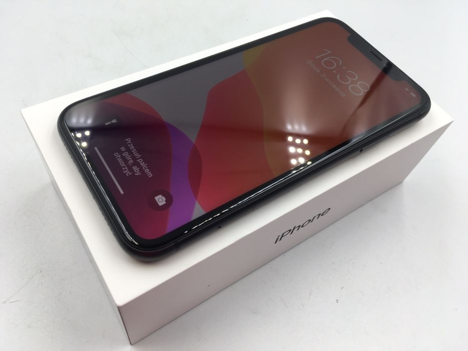iPhone 11 64GB BLACK • NOWA bateria • GW do 6.12.2020 • AppleCentrum Wrocław - image 1