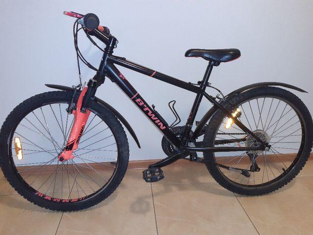 "Rower młodzieżowy BTWIN VTT 24"" Rockrider 500"