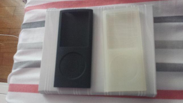 Capas em silicone Ipod nano 4 geração