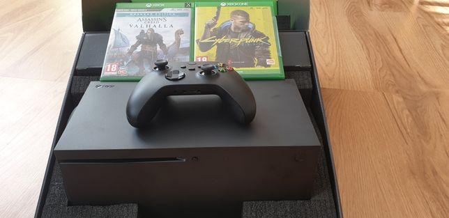 Konsola Xbox Series X / Gwarancja / Ac Valhalla+ Cyberpunk 2077