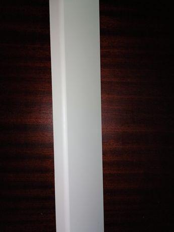Listwa przypodłogowa biała lakierowana MDF wilgocioodporna 10x262x16