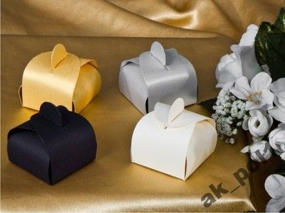 Ślub pudełeczka na słodycze weselne dla gości,promocja