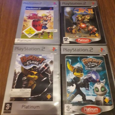 Gry PS2 Playstation 2 Ratchet and Clank JAK