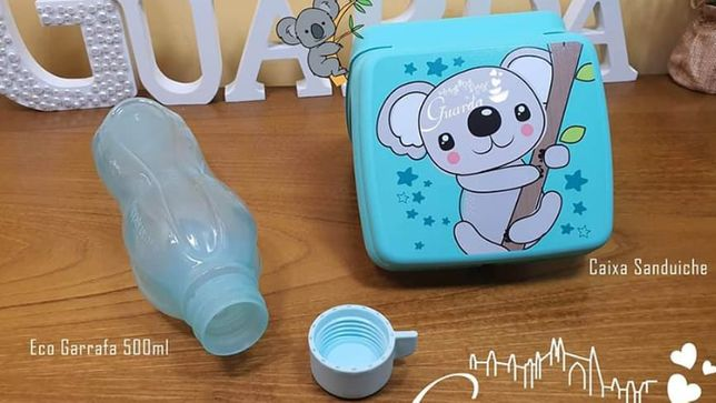 Sandwicheira Koala + Garrafa 500ml Tupperware