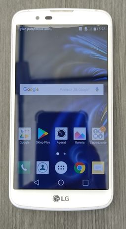 LG K10 LTE biały