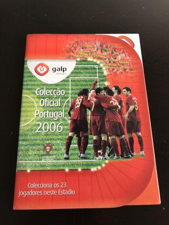 Caderneta Cromos Completa Coleção Oficial Portugal Mundial 2006