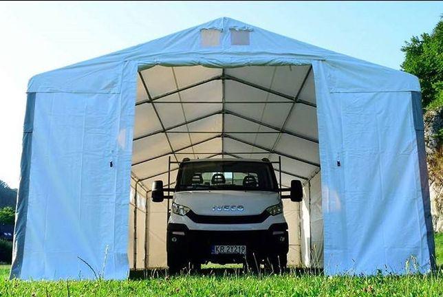 Hala namiotowa 6x16x2 szara przemysłowa PVC namiot magazynowy MTB