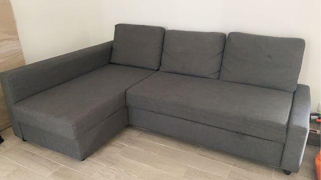 Sofá, chaise longue e cama dupla!