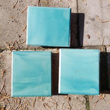 Kafle piecowe niebieskie