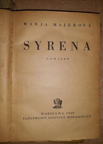 Syrena Powieści M.Majerova 1949 rok