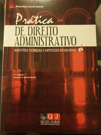 Livros Prática de Direito Administrativo e Manual de Contabilidade