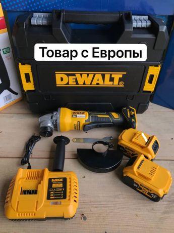 Мощная безщёточная болгарка! DeWalt DCG413 24v/4ah(Девальт).