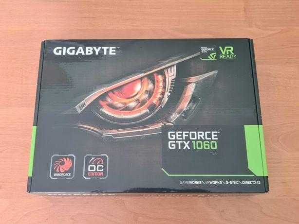 Karta Gigabyte GeForce GTX 1060 WindForce II OC 6GB Na Gwarancji