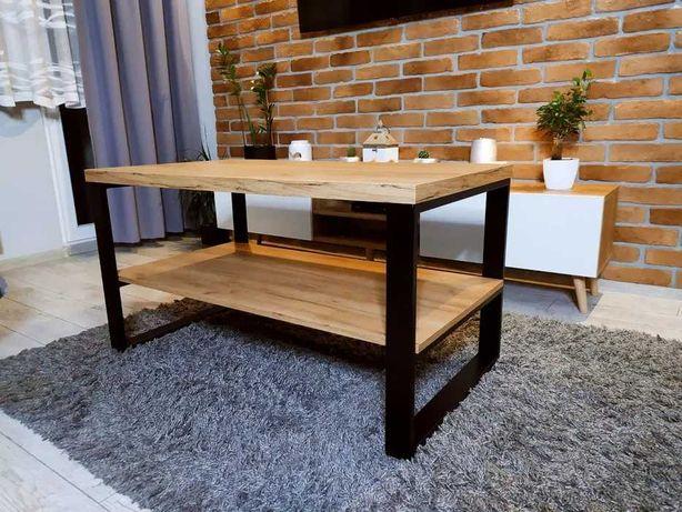 Nowoczesna ława w stylu LOFT, stolik kawowy