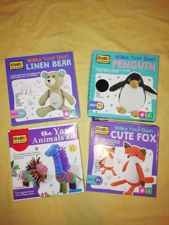 Набор для творчества лиса пингвин медведь