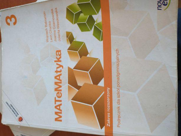 Matematyka, podręcznik, zakres rozszerzony