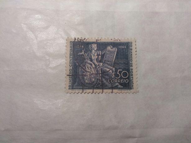 Selos de Portugal - 1946 - Centenário do Banco de Portugal