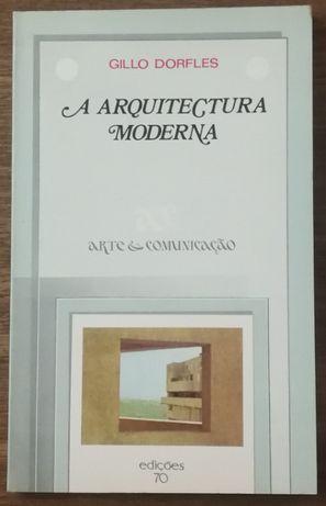 a arquitectura moderna, gillo dorfles, edições 70