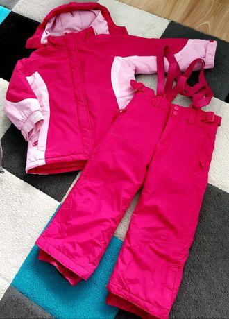 Kombinezon narciarski kurtka + spodnie 3-4 lat różowy F&F SUPER STAN