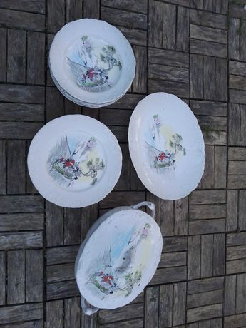 Conjunto spal porcelanas