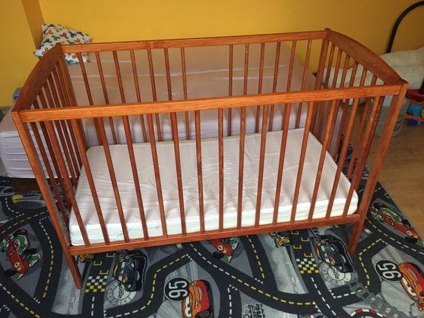 Łóżeczko Drewex drewniane 120x60