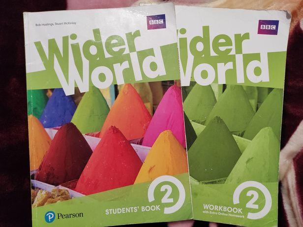 Підручник шкільний Wider World 2