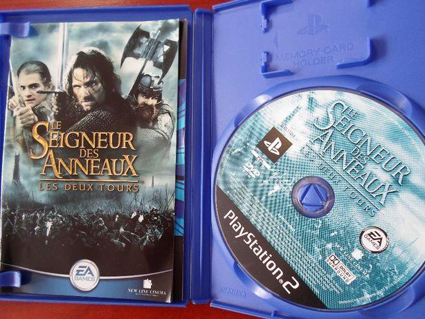 """Gra PS2 : """"Lord of the rings: Two Towers"""" Włądca Pierścieni Dwie Wieże"""