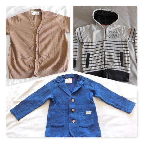 casacos/ blazer 5/6 anos zara