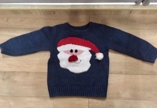 Новогодний рождественский свитер Next