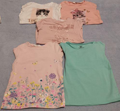 Koszulki z długim rękawem (5 pack) H&M
