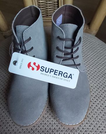 Nowe buty Superga, nowe botki Superga, r. 32