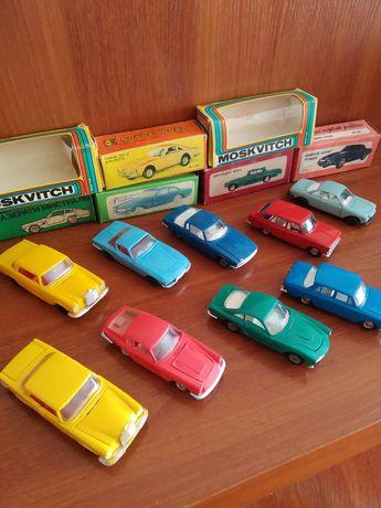 Продам модели машинок СССР