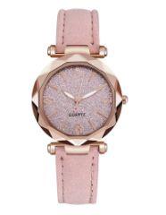 zegarek damski Nowy Piękny różowy brokatowy dla dziewczynki + GRATIS