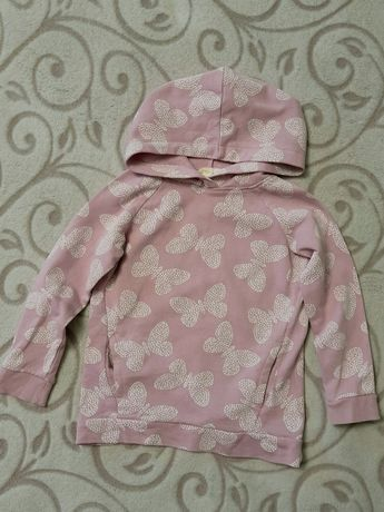 Толстовка H&M на 2-4 года / светр худи свитер кофта кенгурушка свитшот