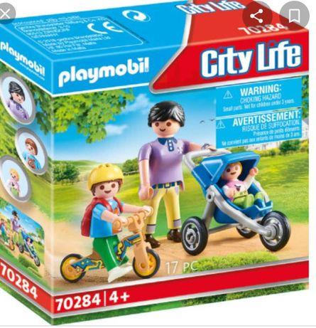 Playmobil mama z dziećmi