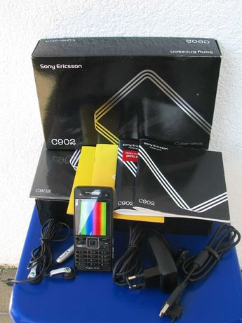 Sony Ericsson C902 Swift Black. Pełen Komplet.